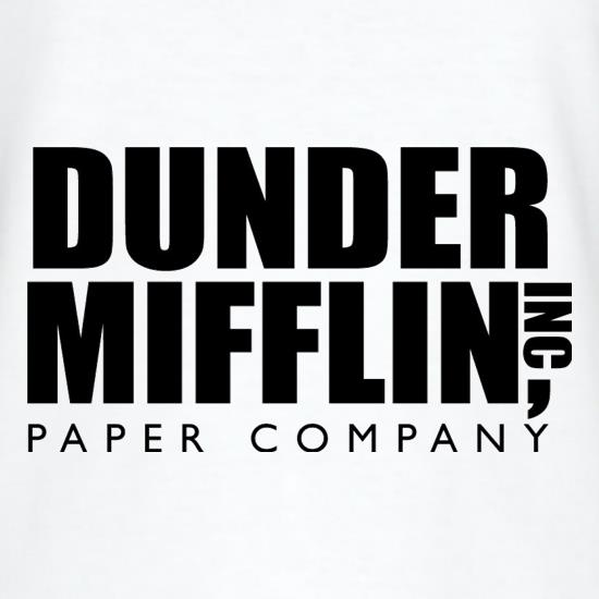 dunder mifflin (the fictional paper company from the office) shirt photo - 1