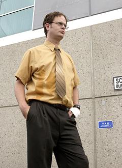 dwight office short sleeve shirt photo - 1