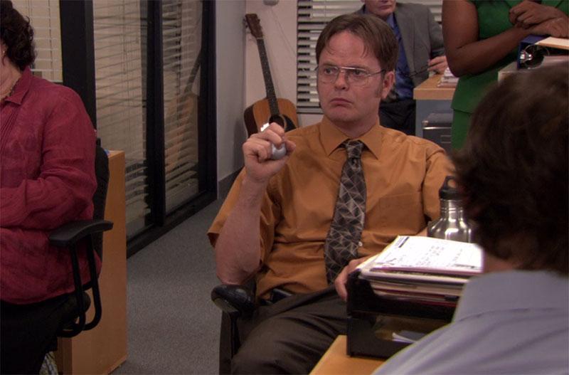 dwight shirt the office photo - 1