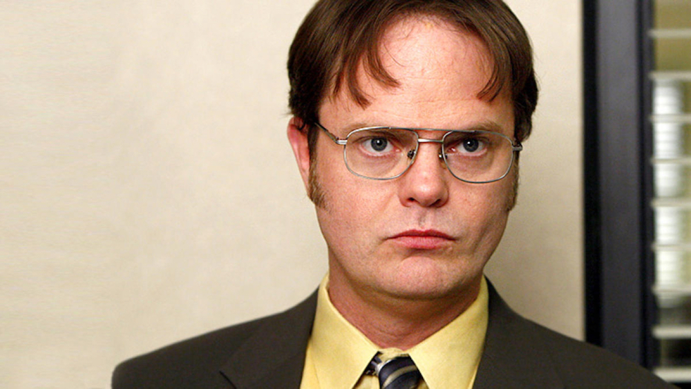 dwight the office t shirt photo - 1