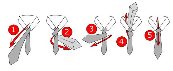 easiest tie knot photo - 1