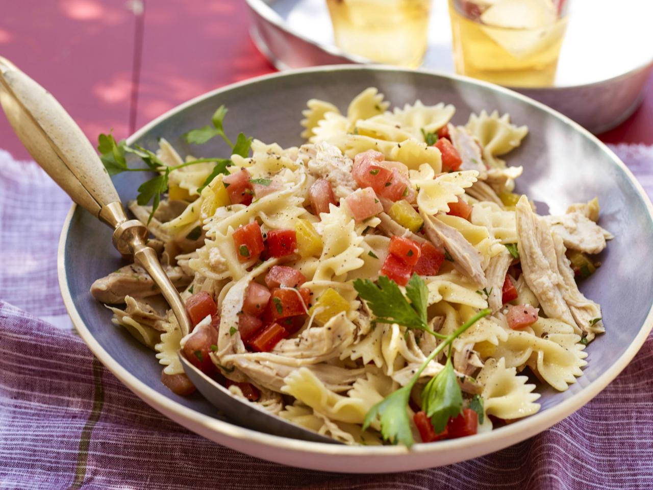 easy bow tie pasta salad photo - 1