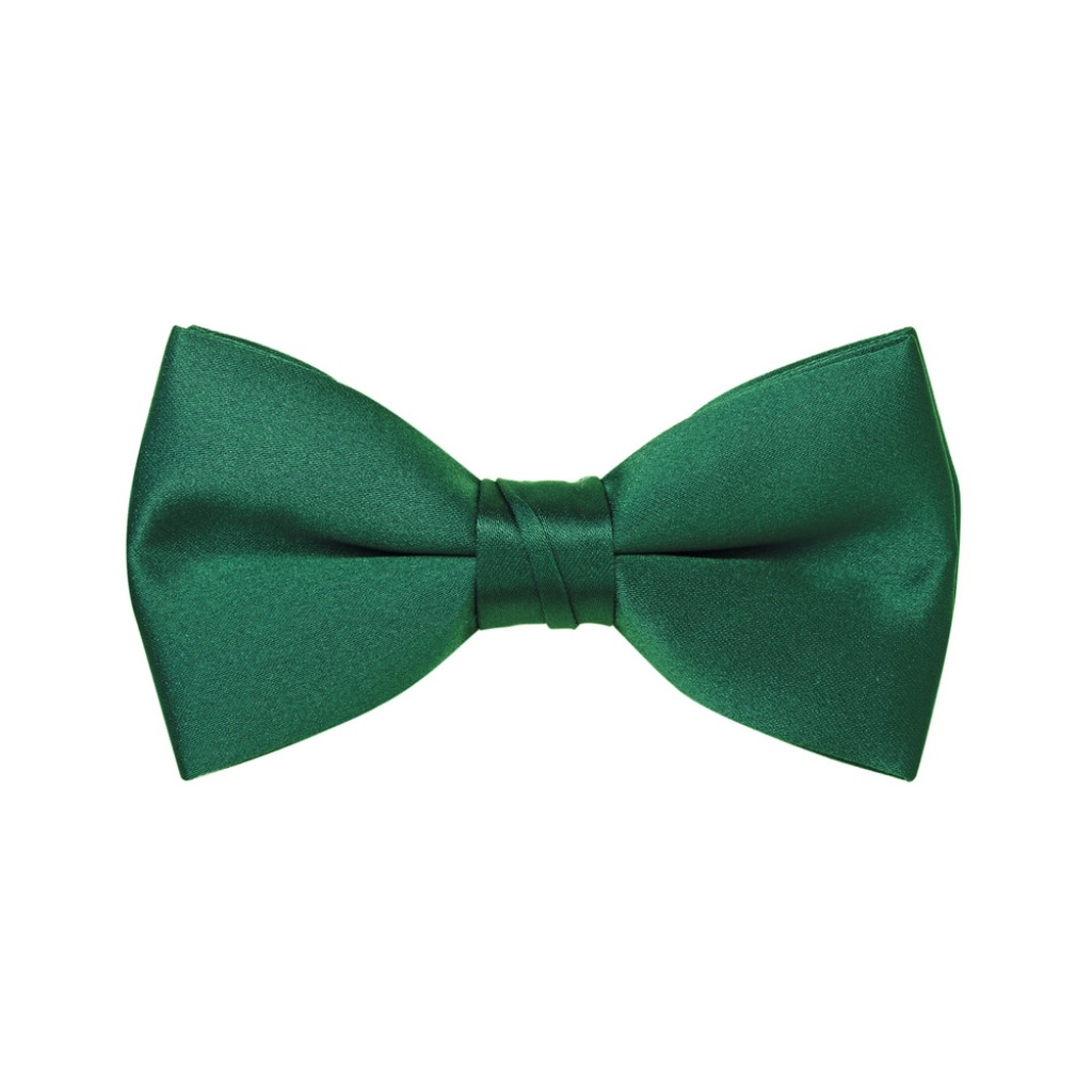 emerald green bow tie photo - 1