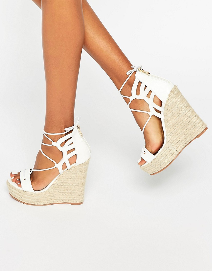 espadrille wedges tie up photo - 1