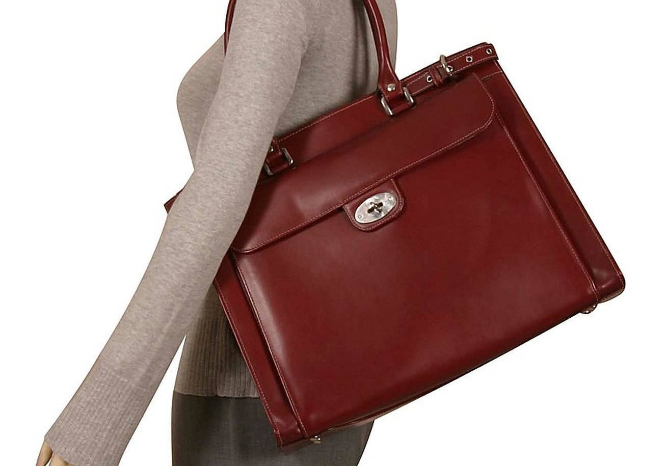 fashionable womens briefcase photo - 1