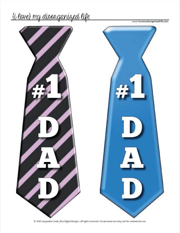 fathers day tie photo - 1