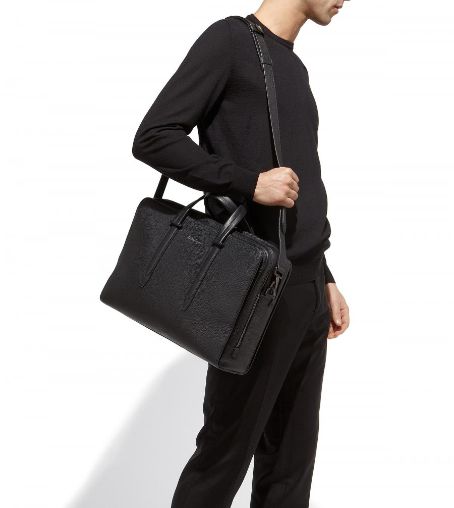 ferragamo briefcase photo - 1