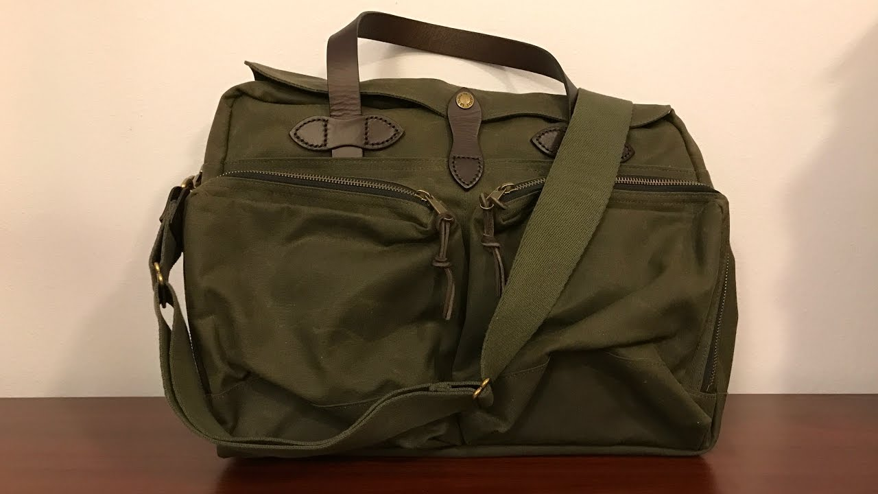 filson briefcase review photo - 1
