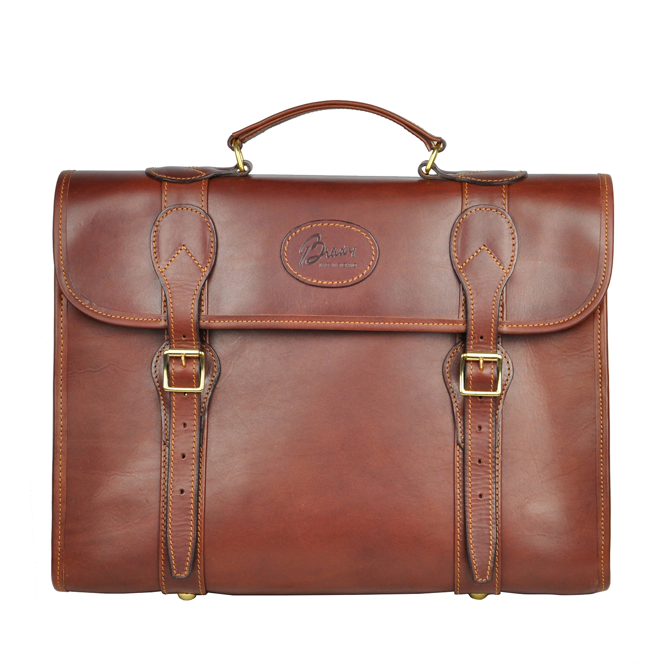 finest leather briefcase photo - 1