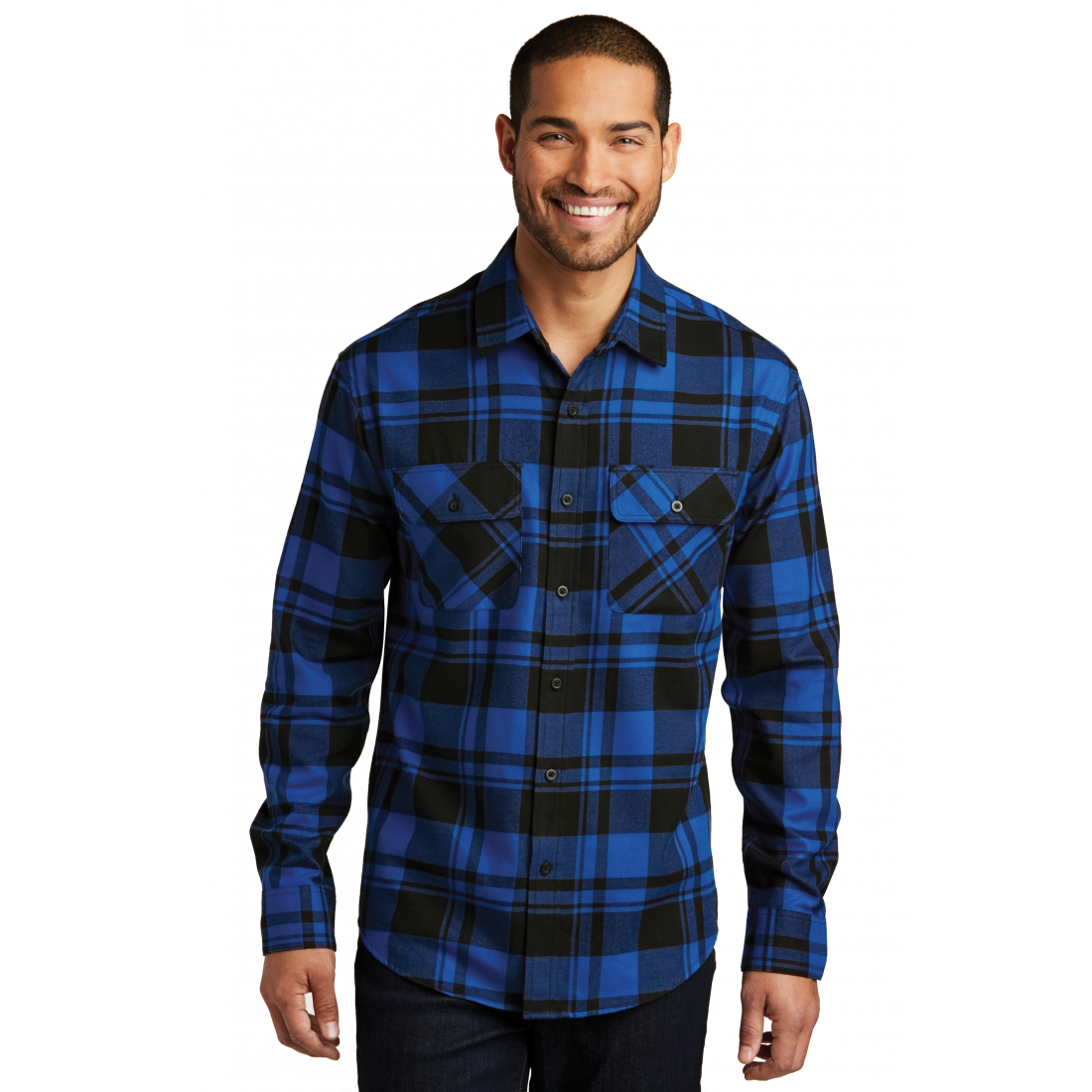 flannel shirt office photo - 1
