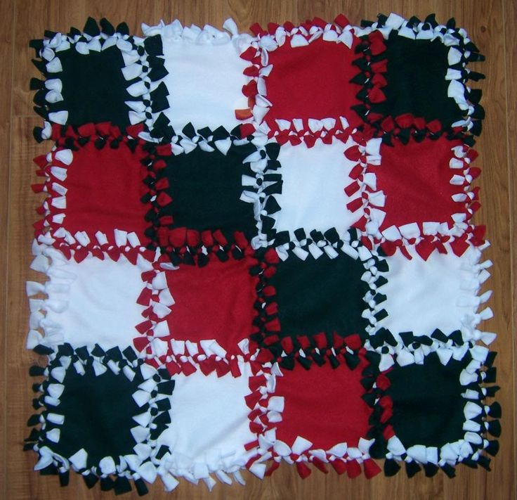fleece tie blankets photo - 1