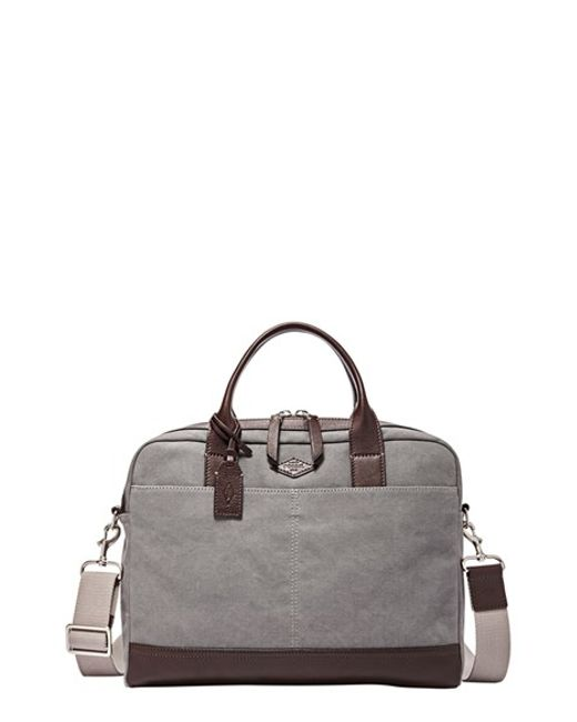 fossil mens briefcase photo - 1