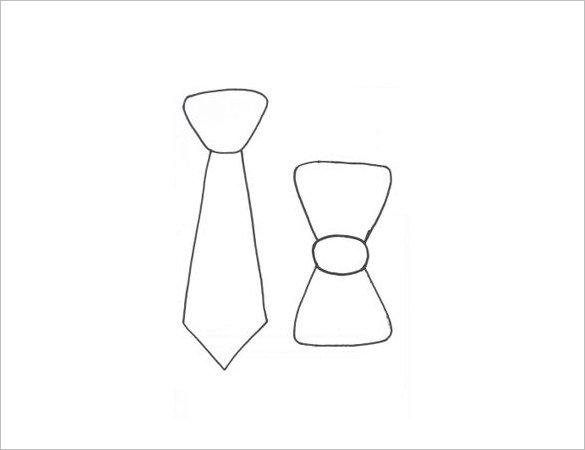 free bow tie pattern photo - 1