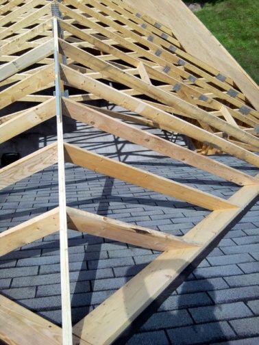 gable roof addition tie in photo - 1