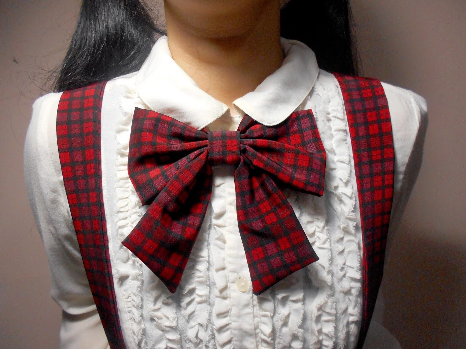 girl bow tie photo - 1
