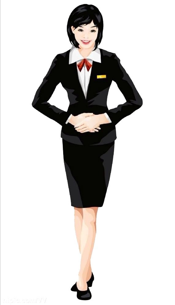 girl business suit photo - 1