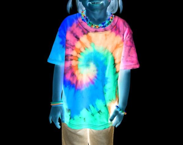glow in the dark tie dye photo - 1