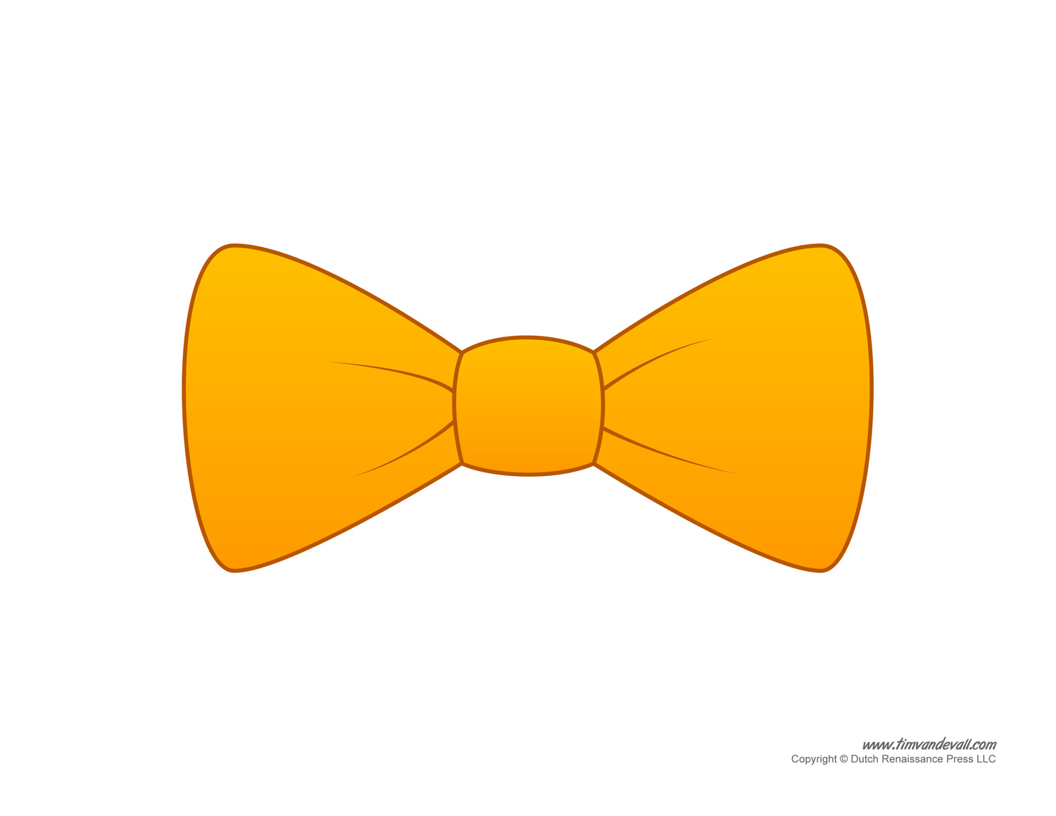 gold bow tie photo - 1