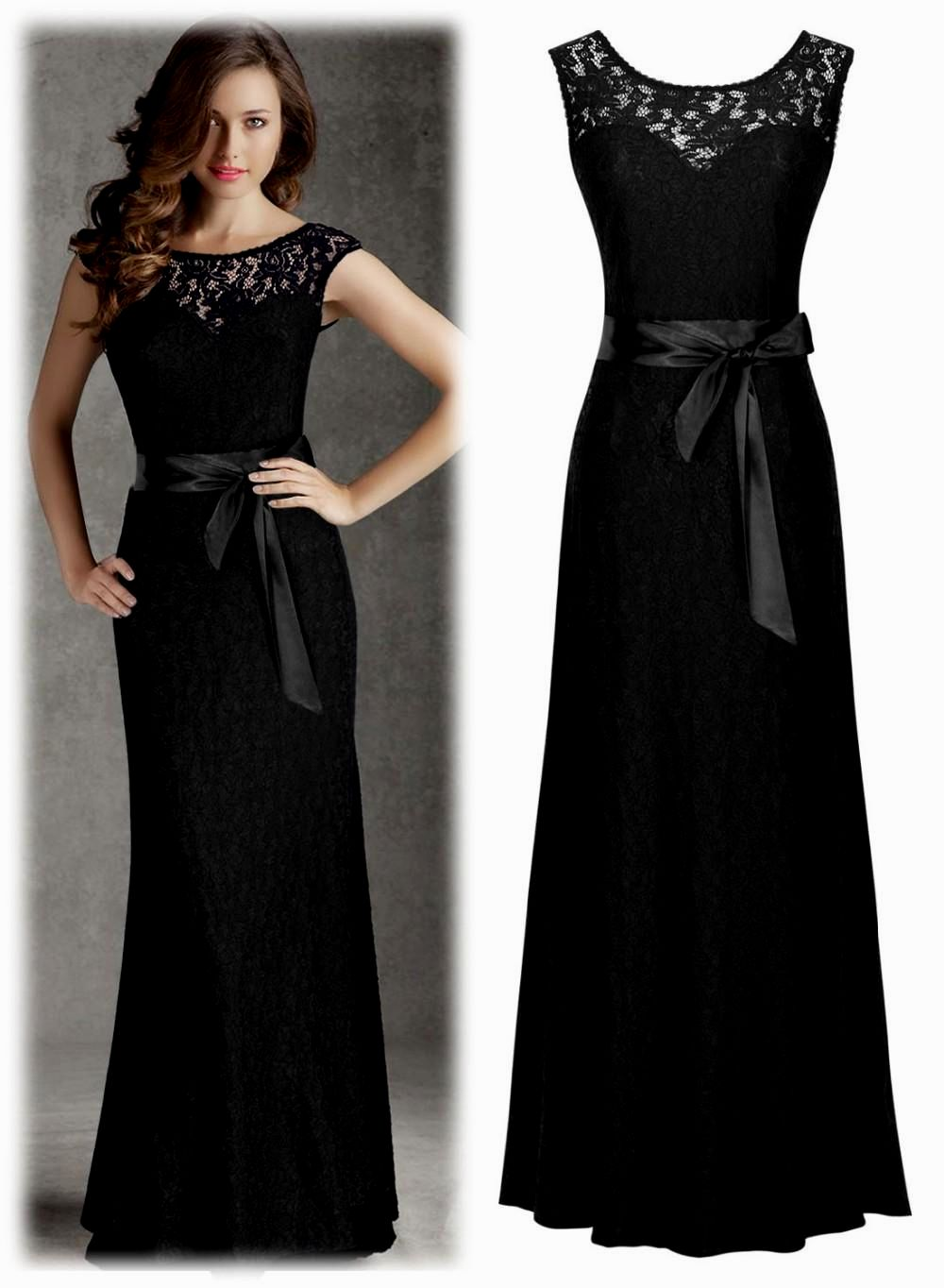 gowns for black tie wedding photo - 1