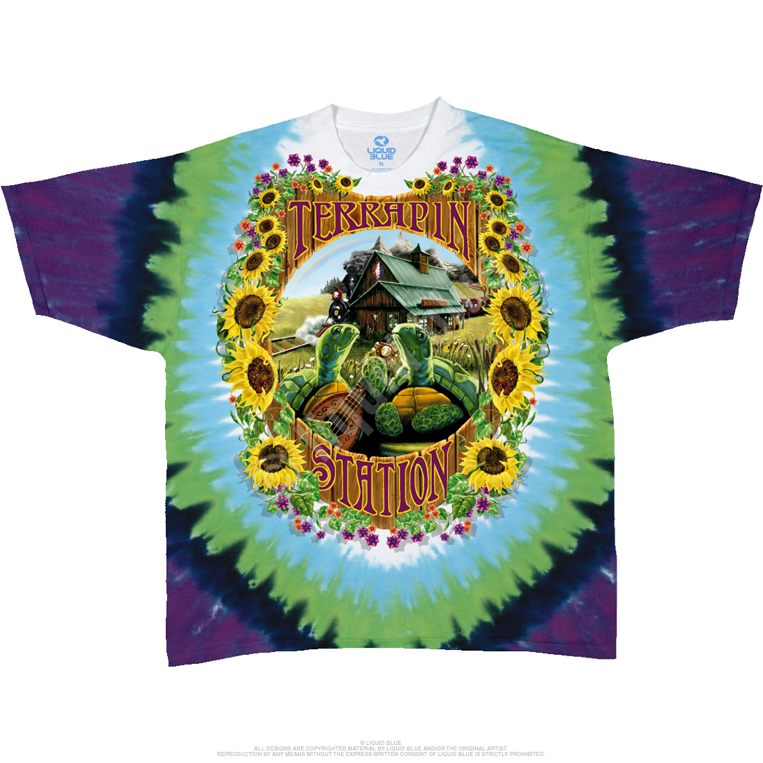 grateful dead tie dye shirt photo - 1