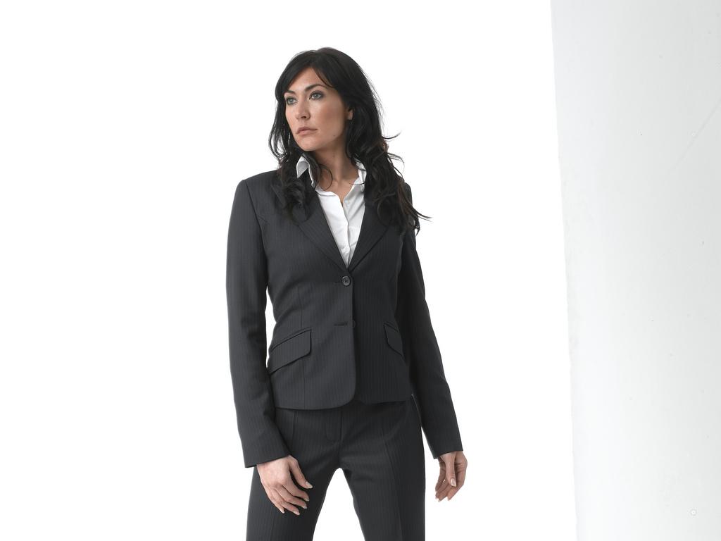 grey business suit photo - 1