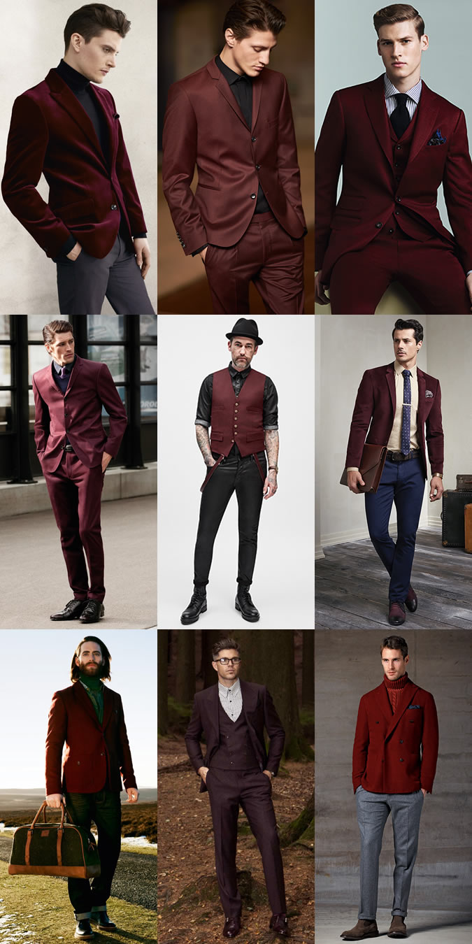 grey suit red tie photo - 1