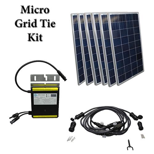 grid tie solar kit photo - 1