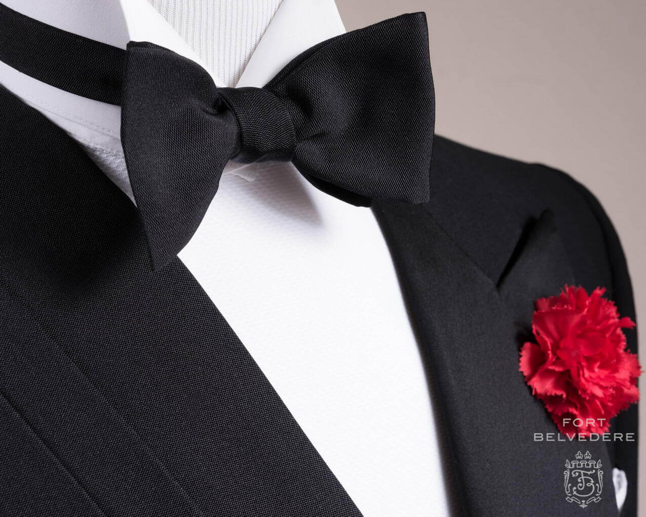 grosgrain bow tie photo - 1