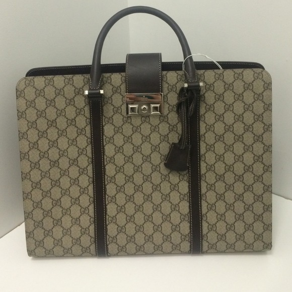 gucci briefcase photo - 1