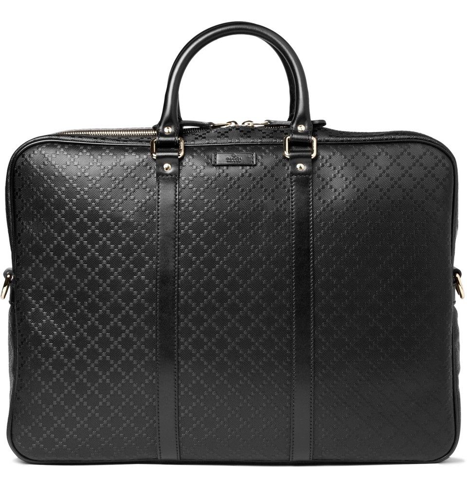gucci mens briefcase photo - 1