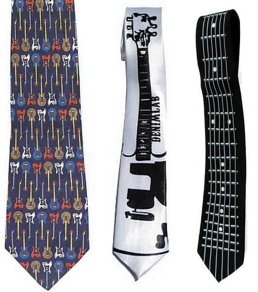 guitar tie photo - 1