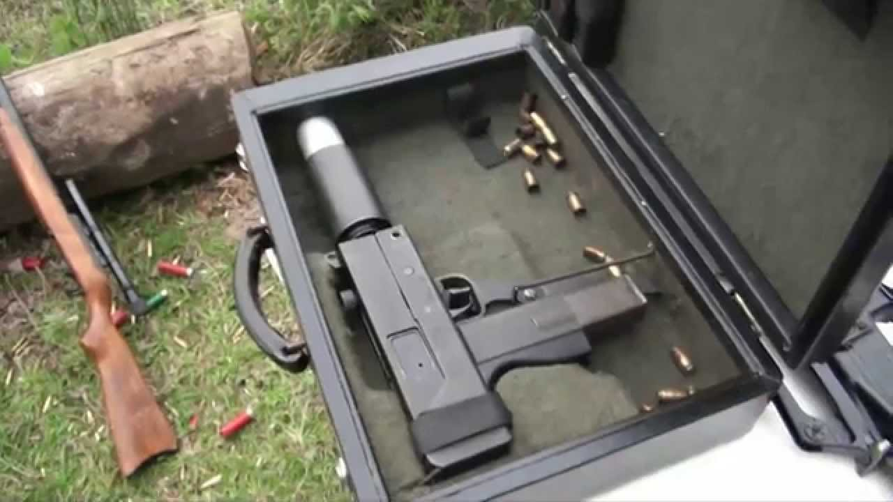 gun briefcase photo - 1
