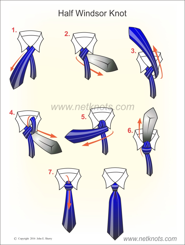 half windsor tie knots photo - 1