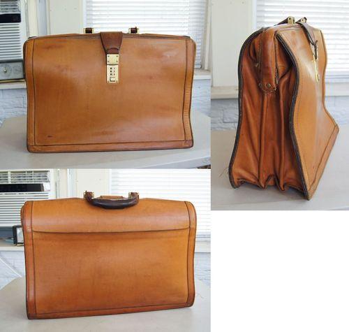 hartman leather briefcase photo - 1
