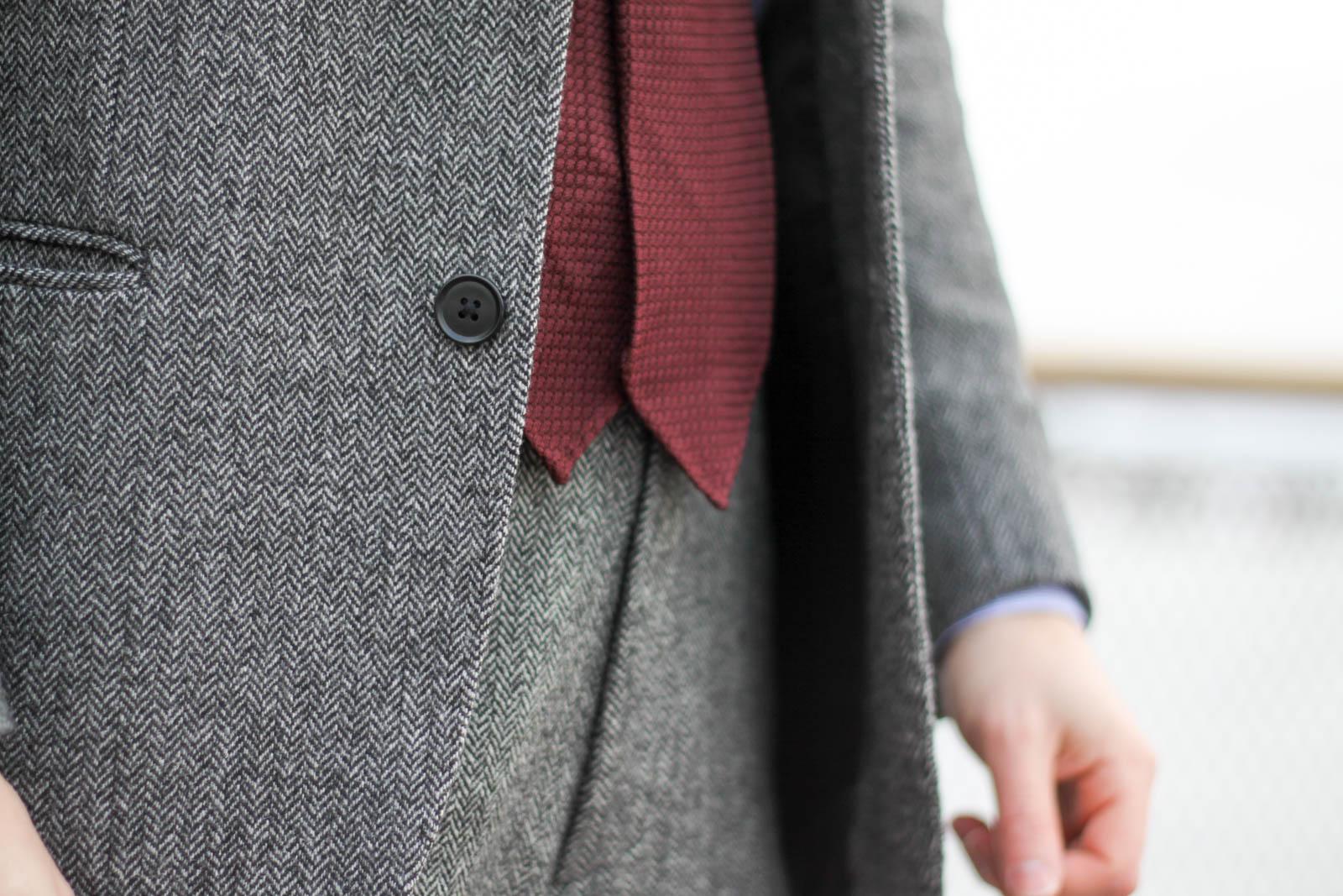 herringbone tie photo - 1