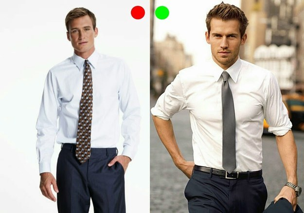 how a tie should look photo - 1