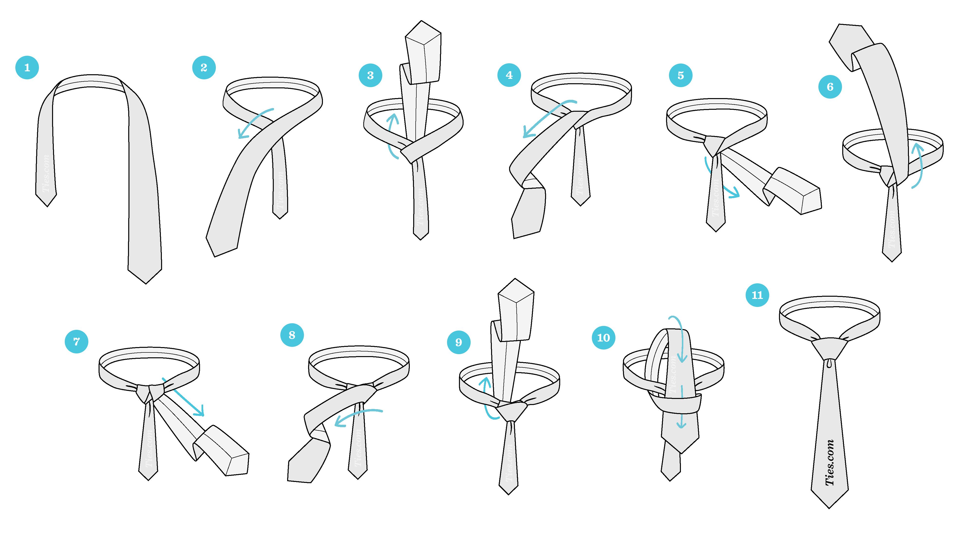 how do you tie a windsor knot photo - 1