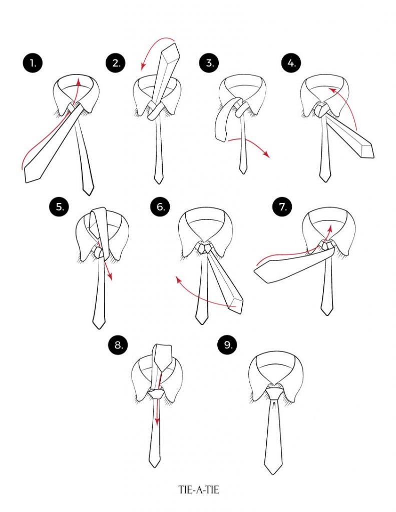 how to do a tie knot photo - 1