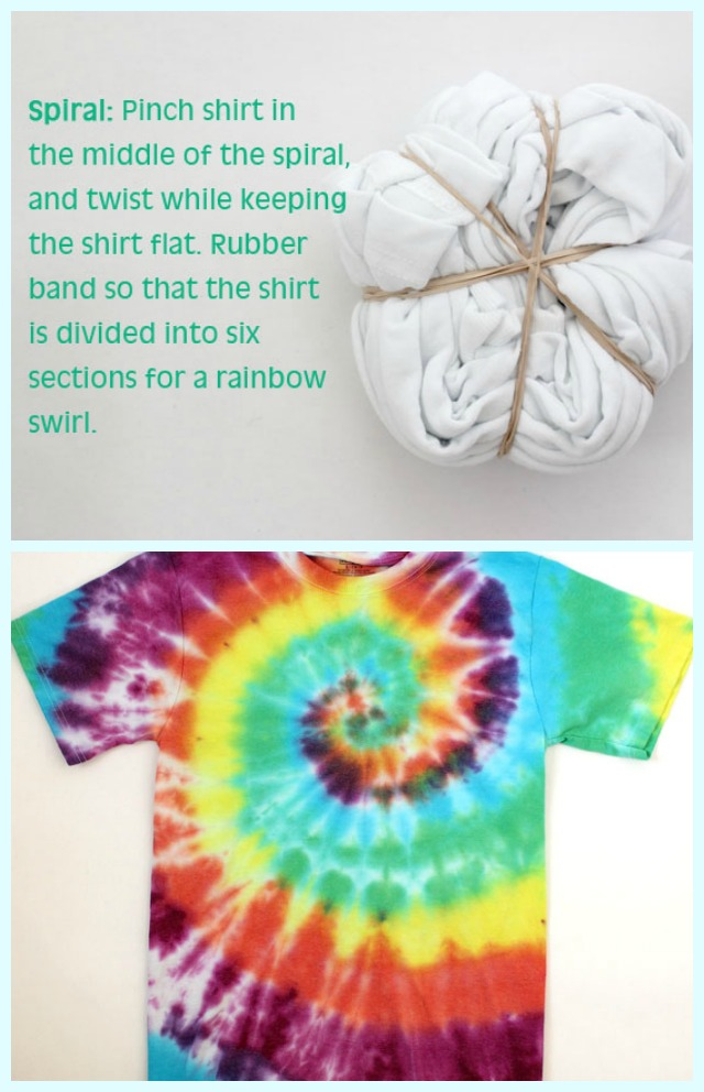 how to do spiral tie dye photo - 1