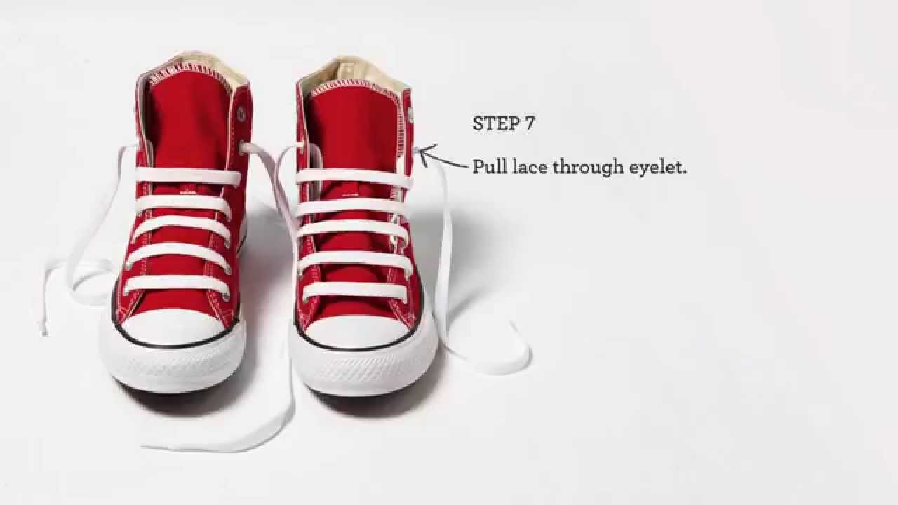 how to lace shoes no tie photo - 1
