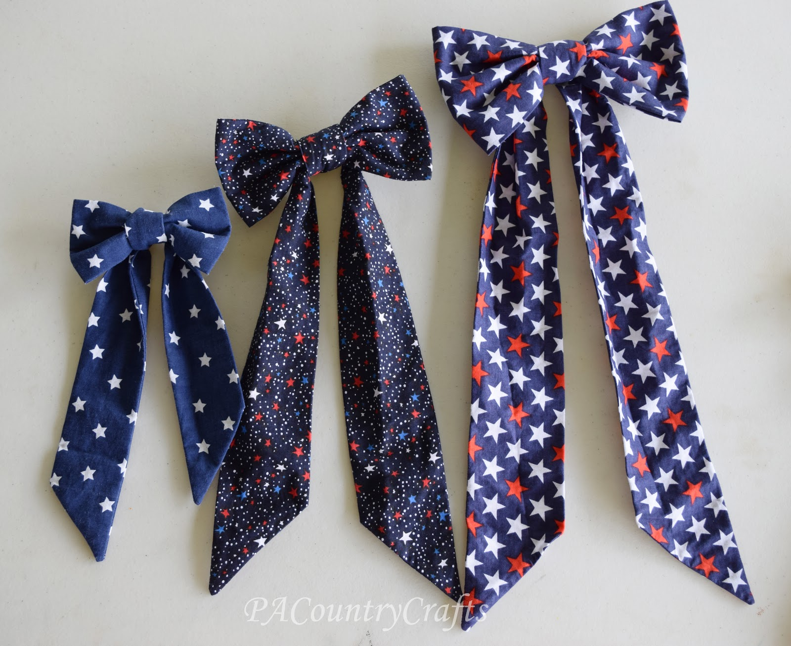 how to make a bow tie out of fabric photo - 1