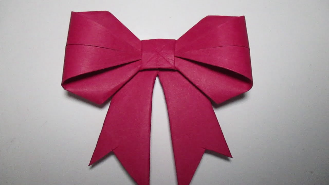 how to make a bow tie out of paper photo - 1