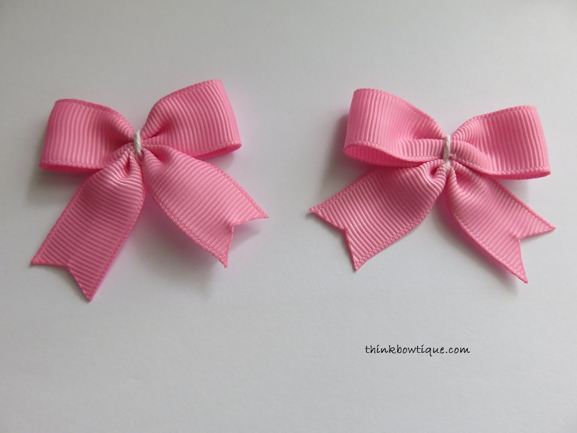 how to make a bow tie with ribbon photo - 1