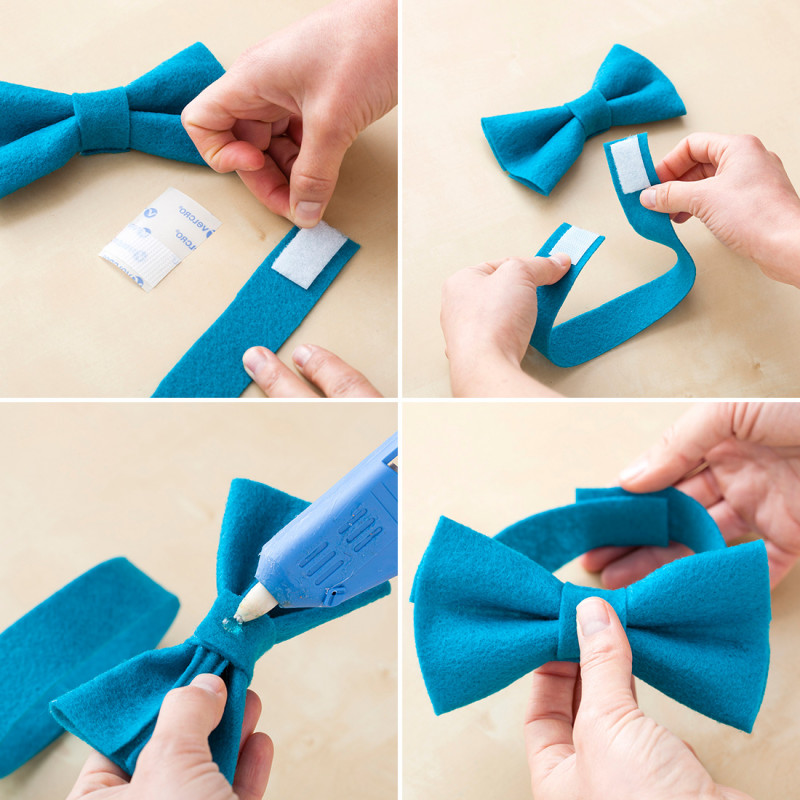 how to make a doggie bow tie photo - 1