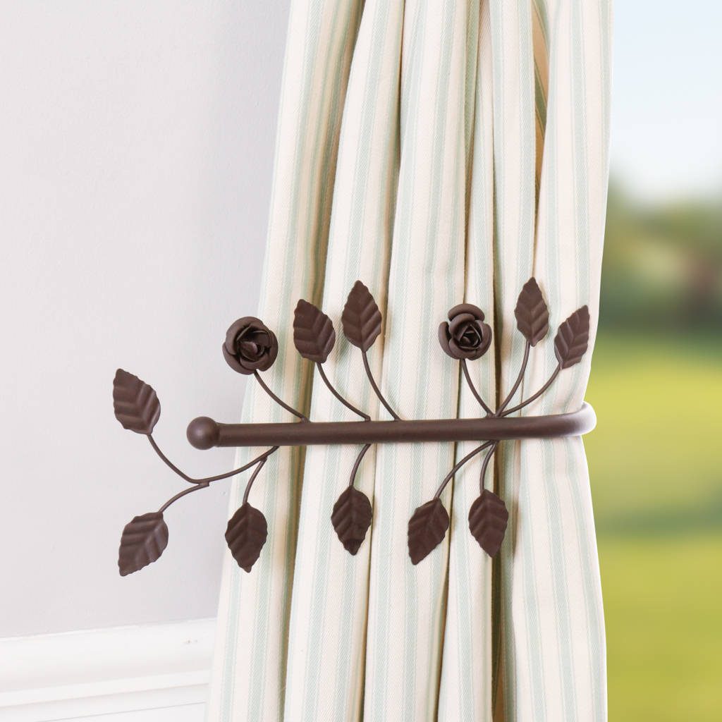 how to make curtains tie backs photo - 1