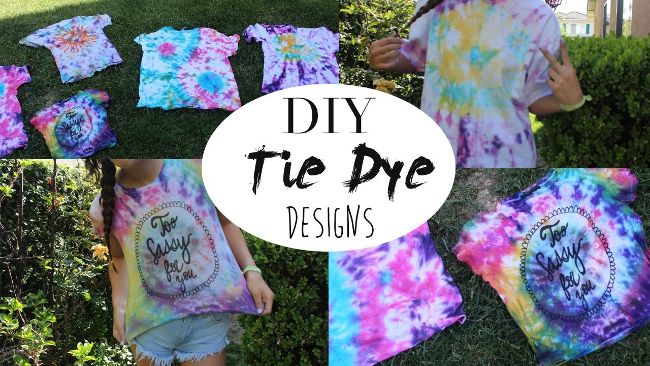 how to make tie dye photo - 1