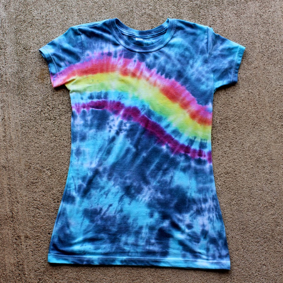 how to rinse tie dye photo - 1