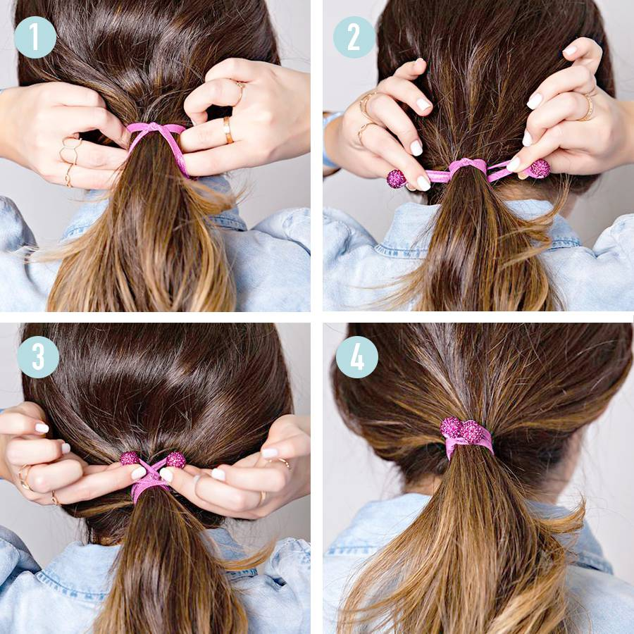 how to use a hair tie photo - 1