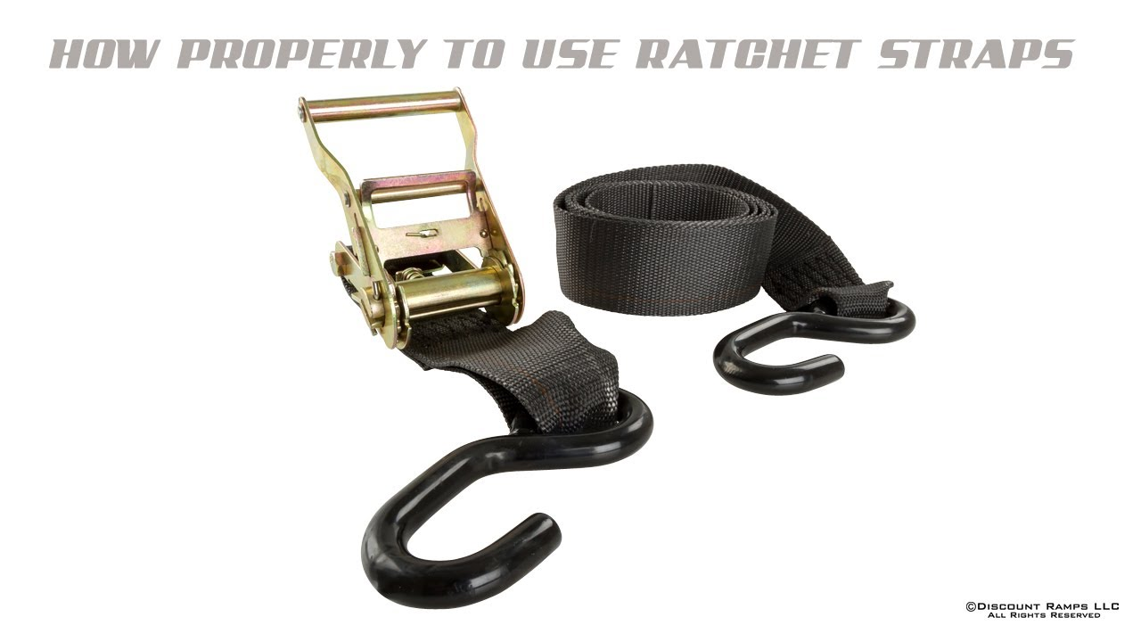 how to use a ratchet tie down photo - 1