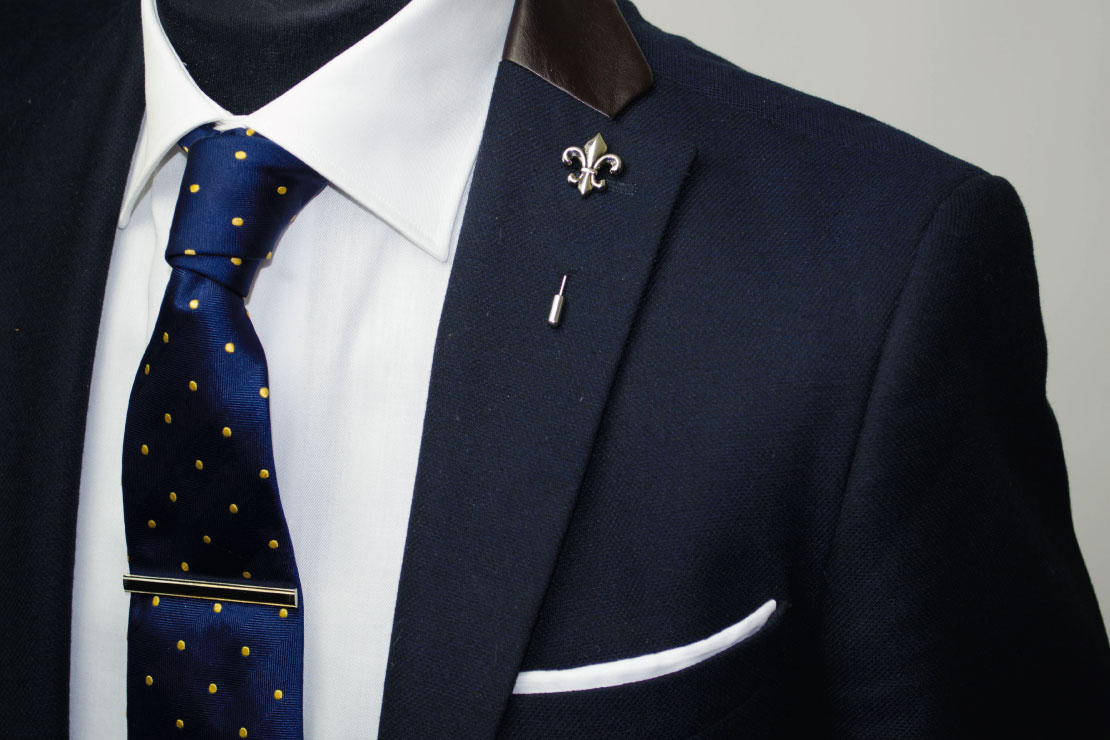 how to wear a tie pin photo - 1